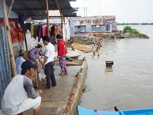 natural disasters, mekong delta, climate change, sea level, flood tide