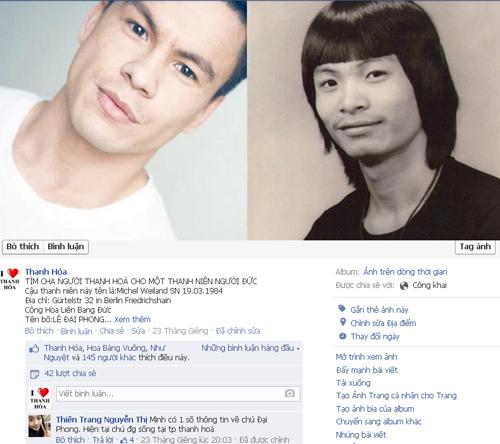 German boy find his Vietnamese father through Facebook