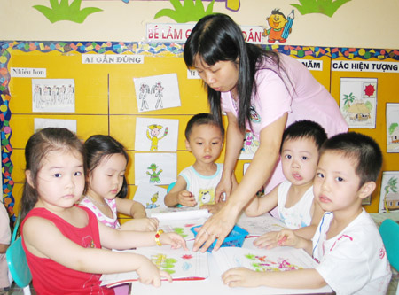 pre-school, english teaching