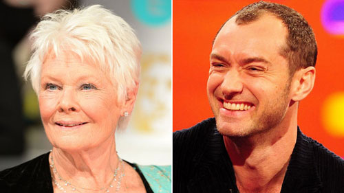 Olivier Awards: Dame Judi Dench and Jude Law up for acting prizes