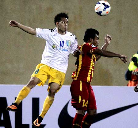 Quyet's fifth goal secures T&T's third AFC Cup victory