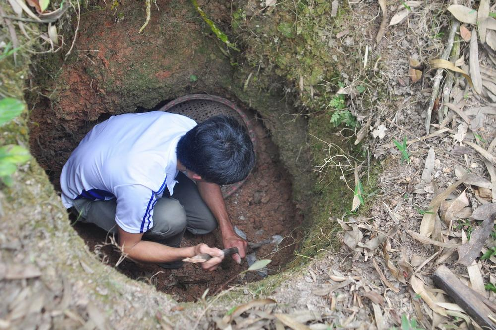 eating soil, vinh phuc