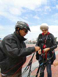 Da Nang, paragliding clubs, Mount Fansipan, Son Tra Mountain