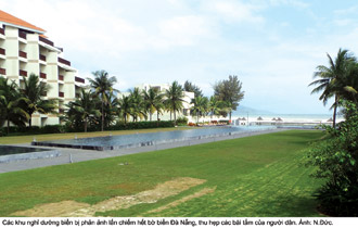 Da Nang, real estate market, resorts, idle