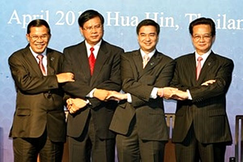 Viet Nam, regional leaders, MRC summit, MDGs, WB aid