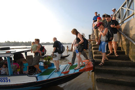 Mekong tourism, An Giang, Tien Giang, Ben Tre
