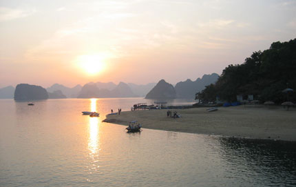 Ti-top Island, british tourist, die, Ha Long