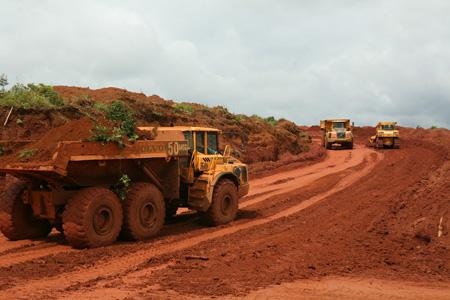 bauxite, allumina, central highlands, tan rai, nhan co