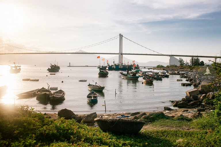 da nang bridges, dragon bridge, han river bridge