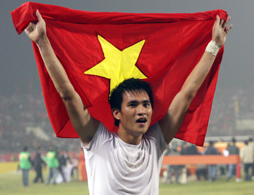 Cong Vinh nominated for Southeast Asian football star team