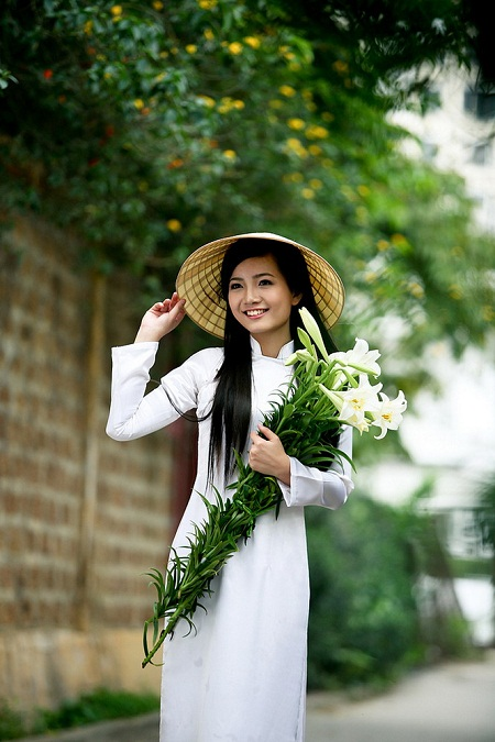 vietnamese girls, ao dai