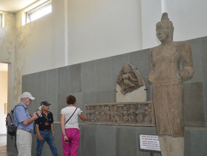 Drop by Cham Museum to explore Cham culture