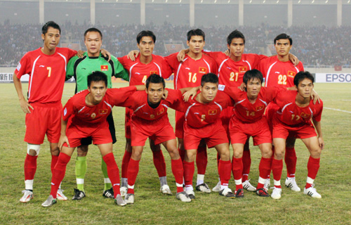 VN top Southeast Asia football