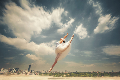 ballet art, ballet dancers, trinh xuan hai
