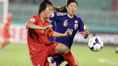 Vietnam suffers first loss in Women's Asian Cup finals