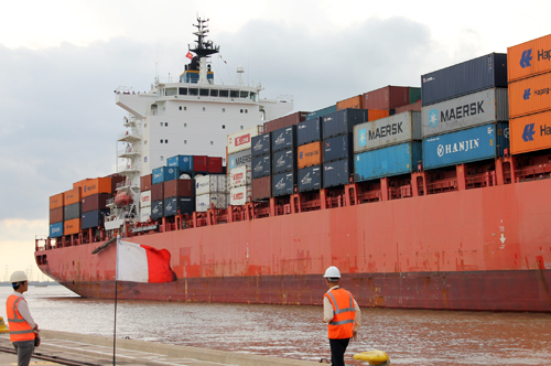Saigon Port, soai rap, dredging, cargo ships