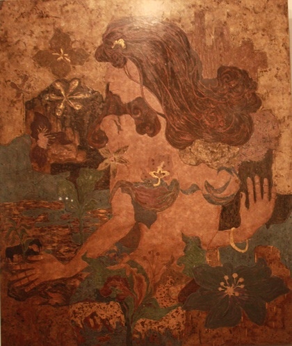 Exhibition Of Paintings From Pure Vietnamese Materials