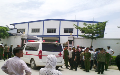 poisoning, shoe workers, thanh hoa, hongfu group
