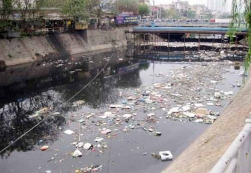 No river in Hanoi found as unpolluted or slightly polluted