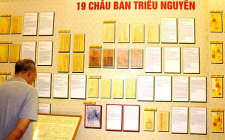 Royal documents, Nguyen dynasty, sea, islands