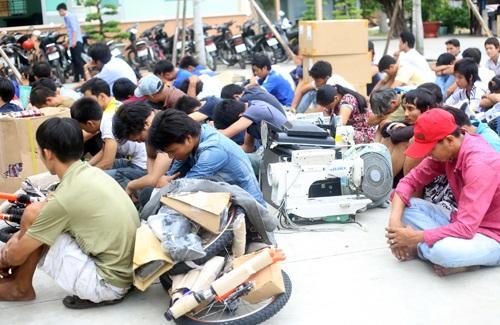 binh duong, riots, arrest, disturbances, IZs