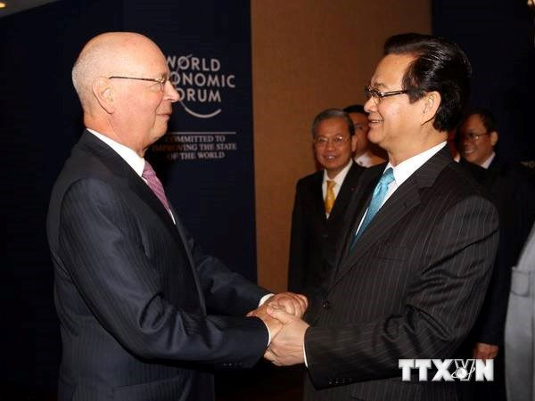 Prime Minister active at World Economic Forum