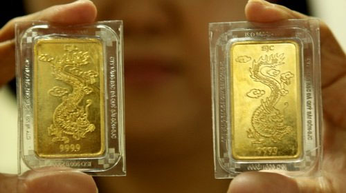 SBV, gold market, gold auctions, global gold prices