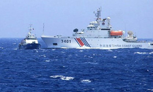 Chinese vessels repel VN boats