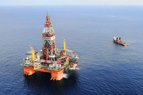 china, east sea, oil rig, international law