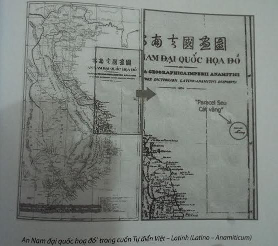 ancient documents, evidence for sovereignty, hoang sa, bai cat vang