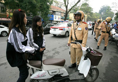 Registration time for silent electric scooters