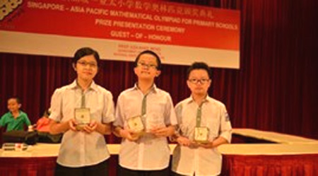 The camera asian pacific mathematical olympiad and blow