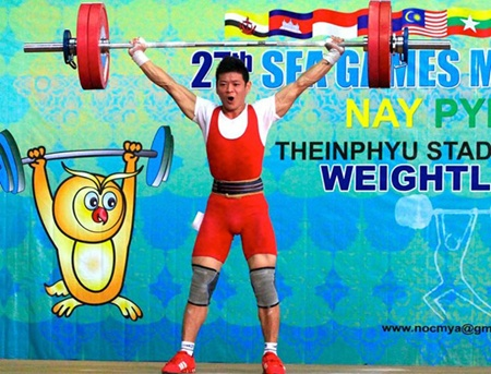 Weight-lifter Thach Kim Tuan set two new records at the World Junior Championships in Athletics in Kazan, Tatarstan, on June 21.