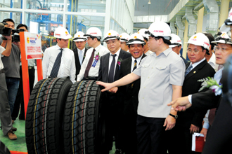 Foreign investors pump millions into tires