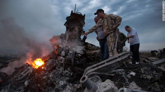 U.S. official: Missile shot down Malaysia Airlines plane