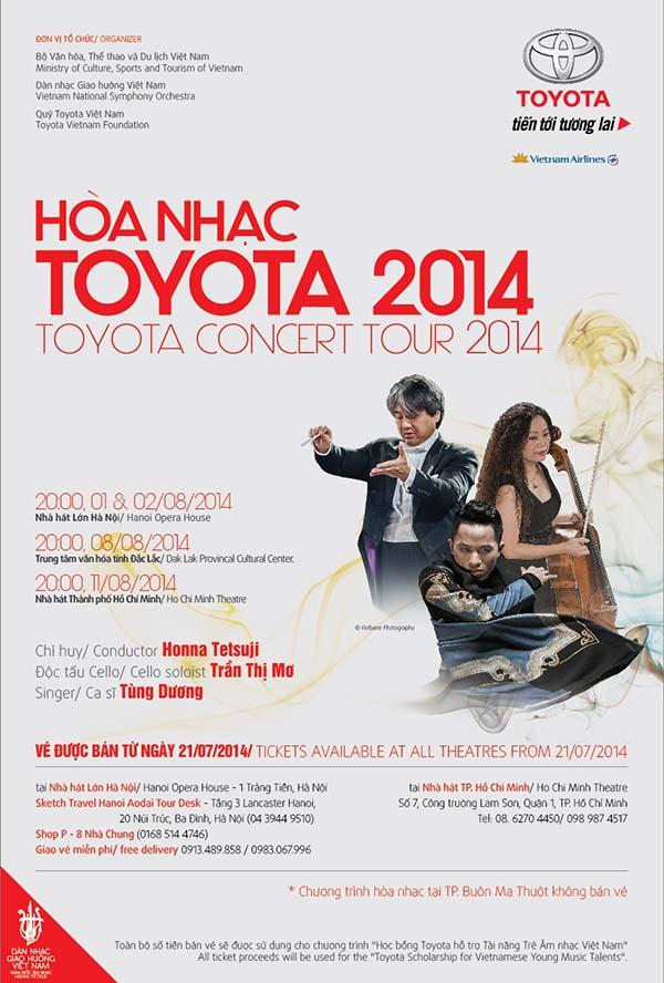 Toyota Concert Tour 2014