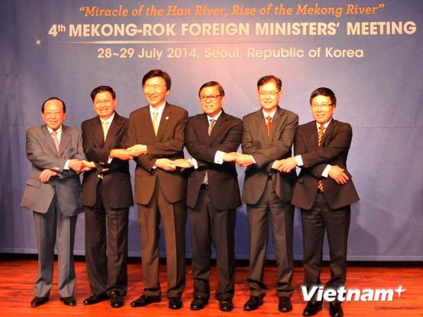 Mekong-RoK ministerial meeting