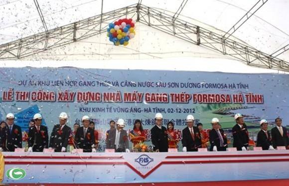 formosa, steel project, ha tinh