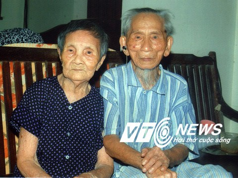 Vietnam's oldest couple, both over 100, live in Nghe An