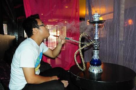 shisha, smoking shisha