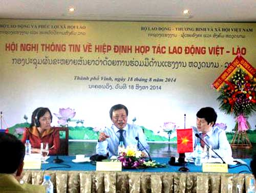 HAGL, Vietnam laborers, Laos, labor cooperation