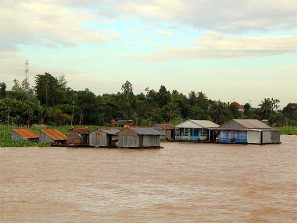 Mekong Delta, hydroelectric plant, fish farming, flood control, saltwater intrusion