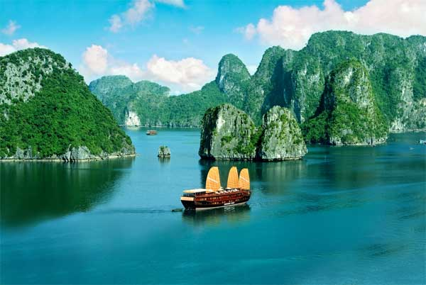 Investors, stop building factories, Ha Long Bay
