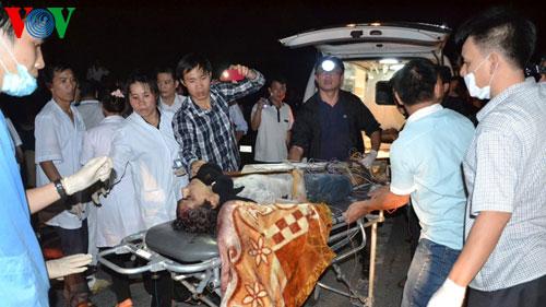 Lao Cai, tour bus, bus accident, victims