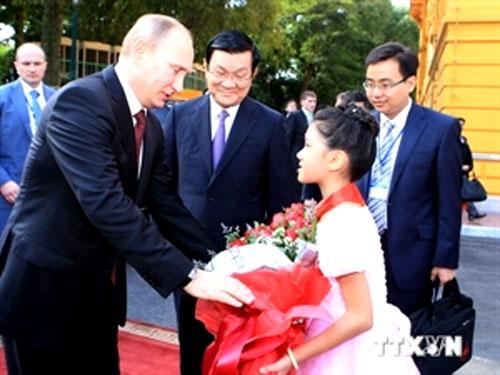 President Putin, Russia-Vietnam ties, bilateral relations