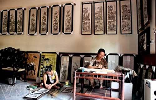 Artisans work to revive Dong Ho folk art – Arts – Arts & Entertainment