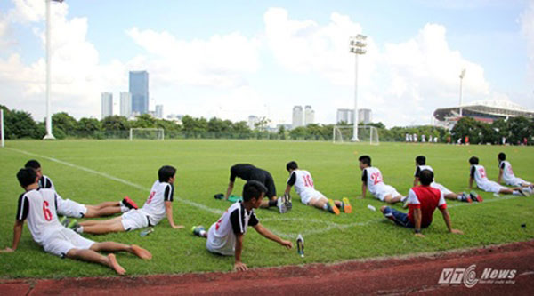 U19 Nutifood Cup, Viet Nam, Japan, loss