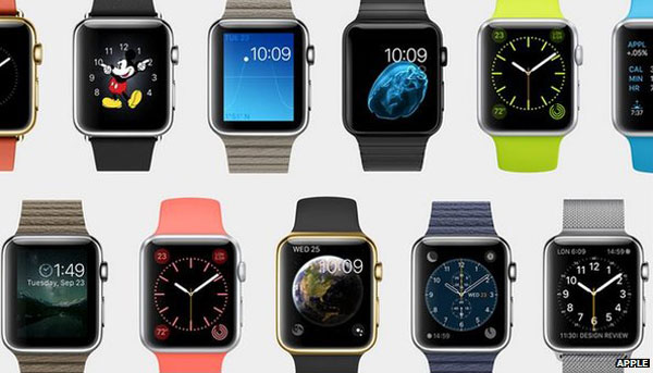 Apple Watch unveiled alongside new larger iPhones