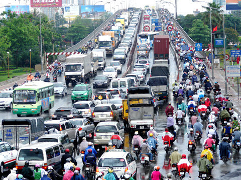 HCM City traffic jams cause an annual $1.2 billion in damages