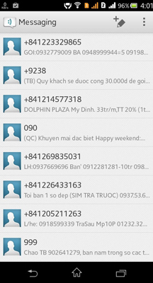 Spam messages from OTT apps unpreventable, mobile-network operators claim